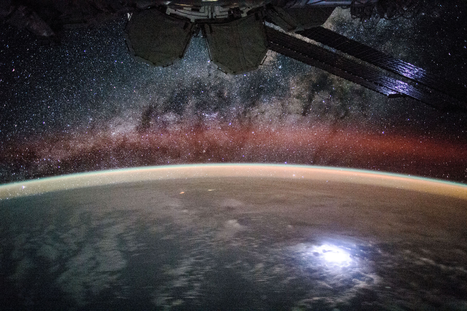 ISS - Voie lactée - Milky Way - Stars - ISS044-E-45215 - International Space station