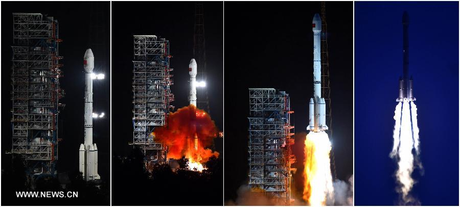 Beidou - Chang Zheng 3B - Long March - 5 juillet 2015 - Xichang - Beidou M1-S - Beidou M2-S - Chang Zheng-3B/YZ-1GPS chinois