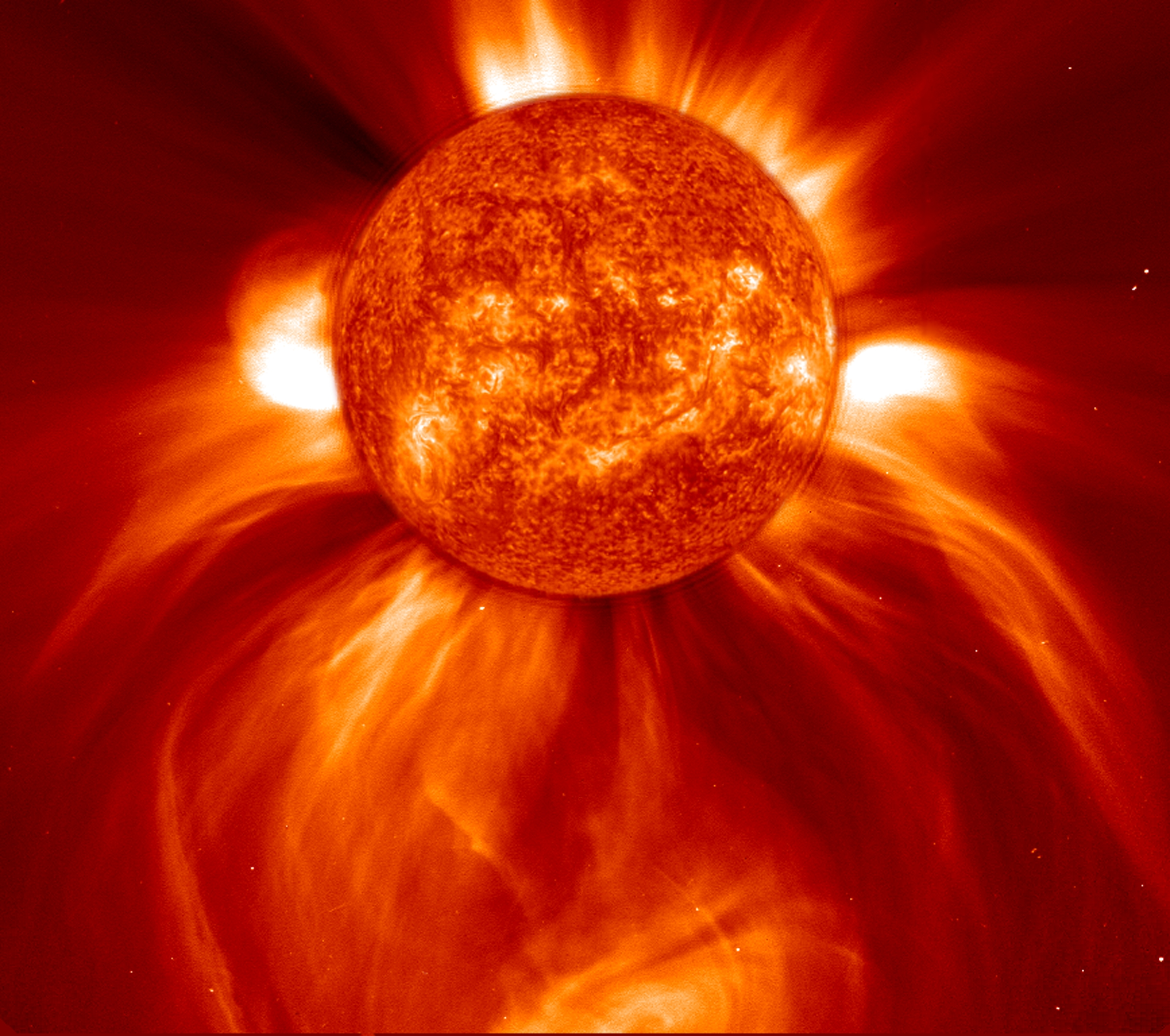 SOHO - éruption solaire - Coronal Mass Ejection - CME - ESA - NASA - observatoire solaire - Winner of SOHO's Birthday Image Contest