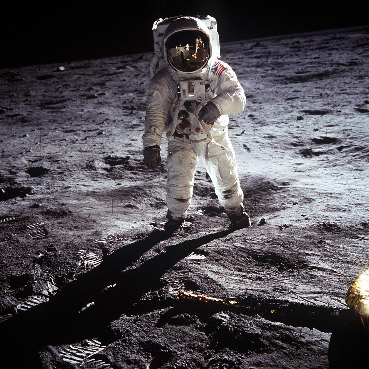 Juillet 1969, Apollo 11 et les premiers pas sur la Lune - Armstrong - Aldrin - NASA