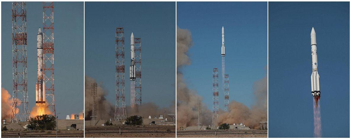 Inmsarsat - Inmarsat 5-F3 - Proton-M Baikonour - 28 août 2015 - Roscosmos