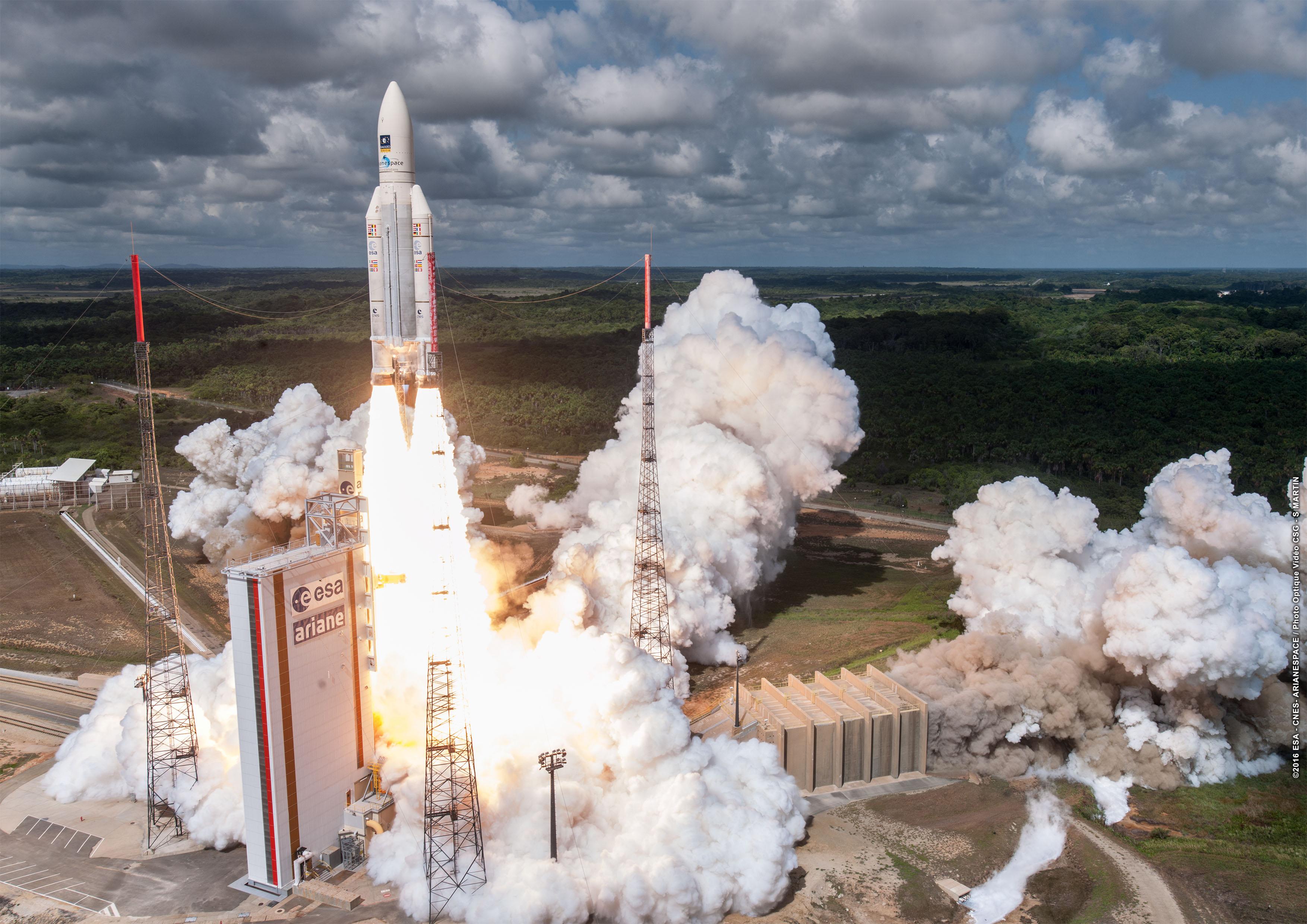 Ariane 5 ES - VA 233 - Galileo - Arianespace - Kourou  - CSG - 17 novembre 2016