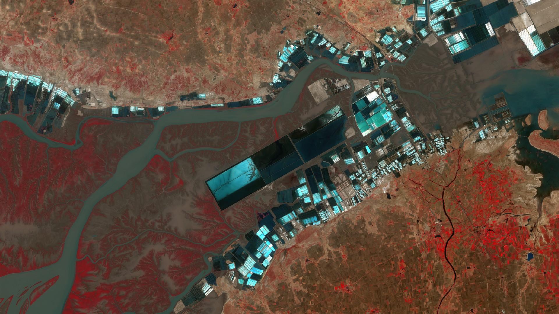 Sentinel-2 - Golfe de Kutch - Inde - ESA - Copernicus
