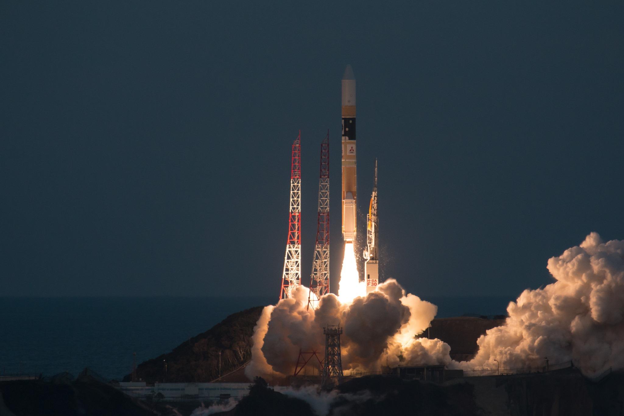 Mission d'astronomie ASTRO-H - Fusée H-2A - Tanegashima 17 février 2016 - JAXA