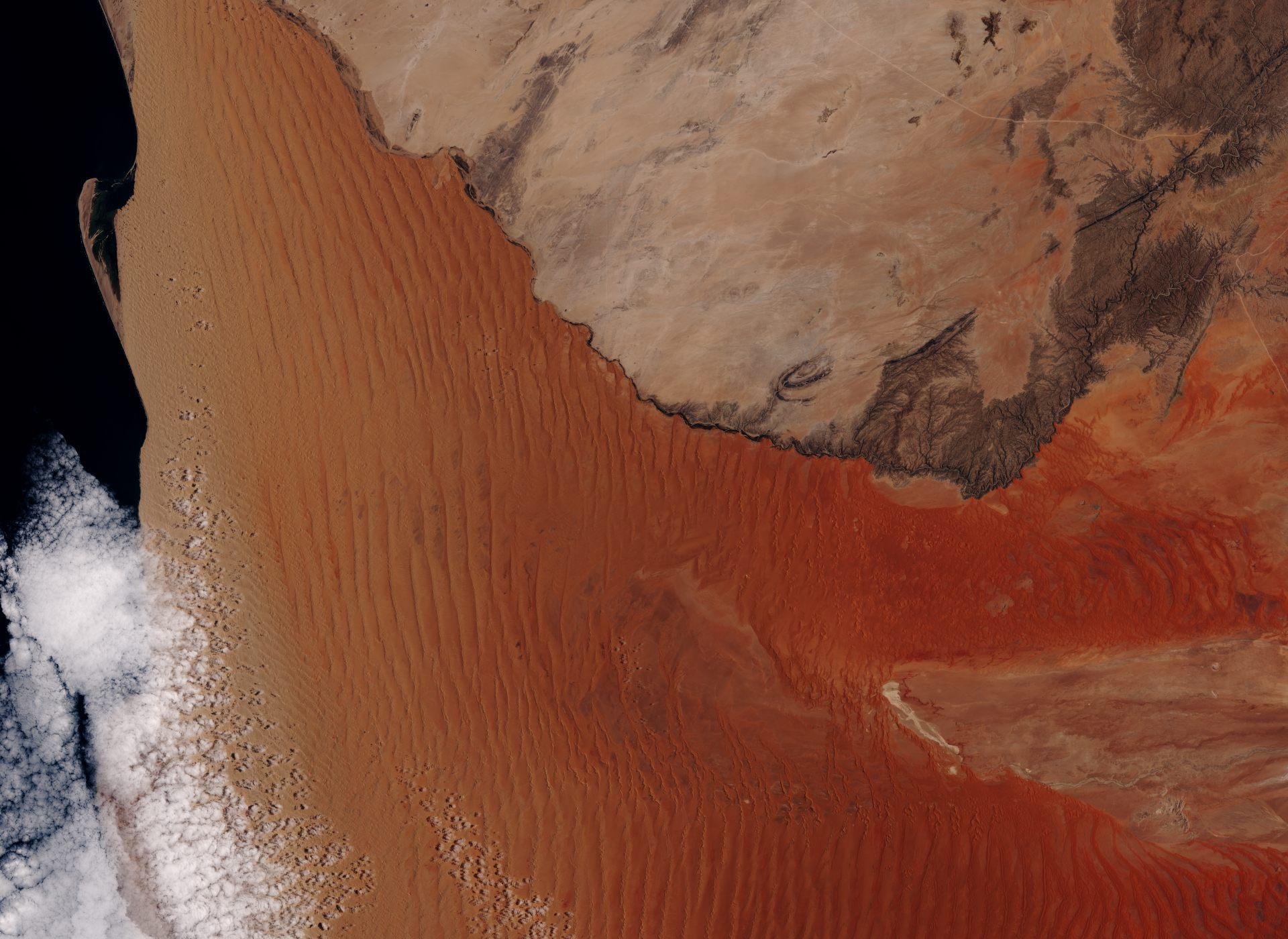 Sentinel-2 - Namibie - Désert - ESA - Copernicus