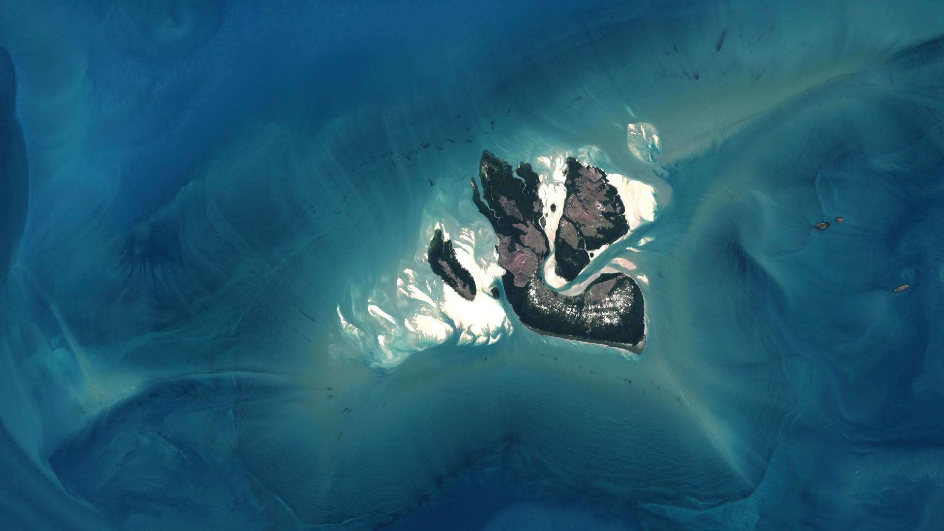 Sentinel - Sentinel -2A - Australie - Kimberley - Juin 2016 - ESA - Copernicus - Commission européenne - satellite - la Terre vue de l'espace