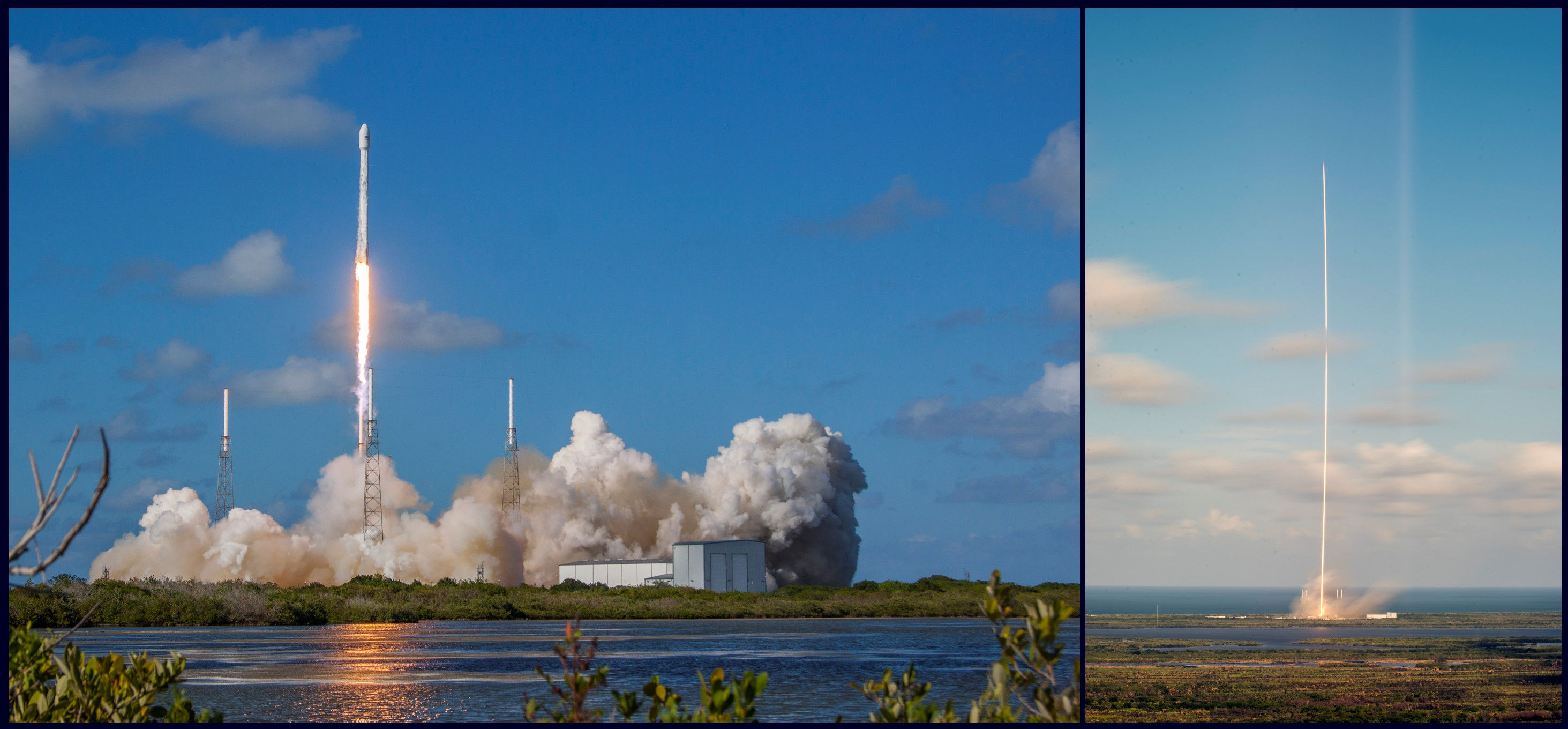 Falcon 9 - Space X - Lancement - satellite Thaicom 8 - 27 mai 2016 - Cap Canaveral