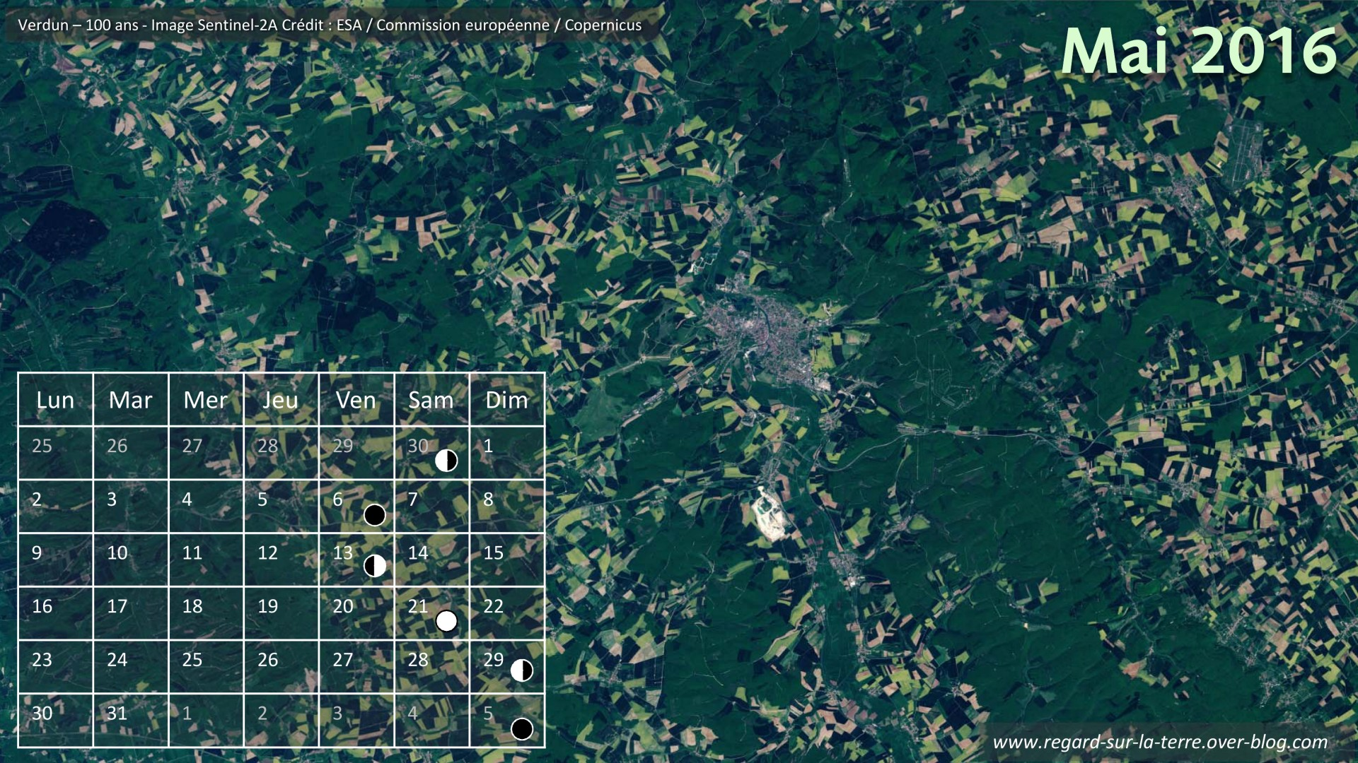 Bataille de Verdun - Commémoration - Mai 2016 - Douaumont - Calendrier spatial 2016 - Hollande - Merkel - Première guerre mondiale - forêt de Verdun