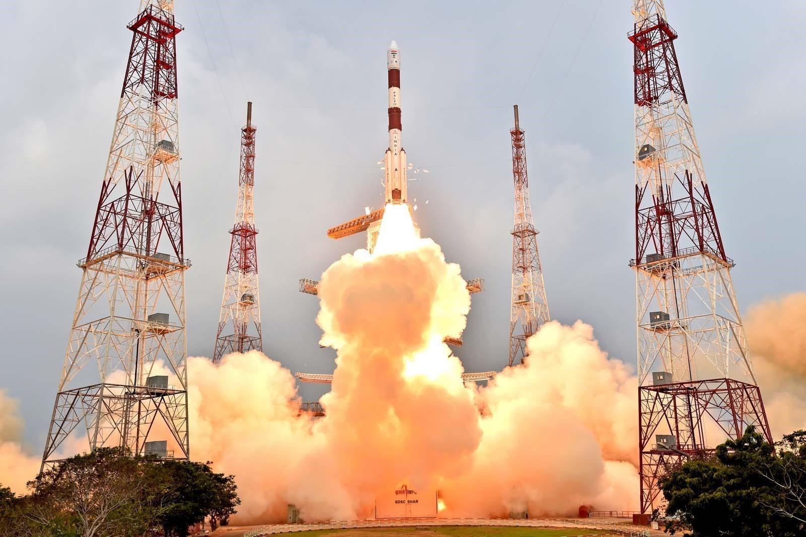 Lancement - PSLv-XL C31 - IRNSS-1G - Inde - ISRO