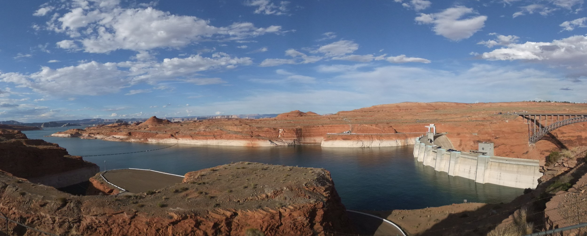 Barrage de Glen Canyon - Lac Powell - Colorado - Gédéon - Panorama - Un autre regard sur la Terre