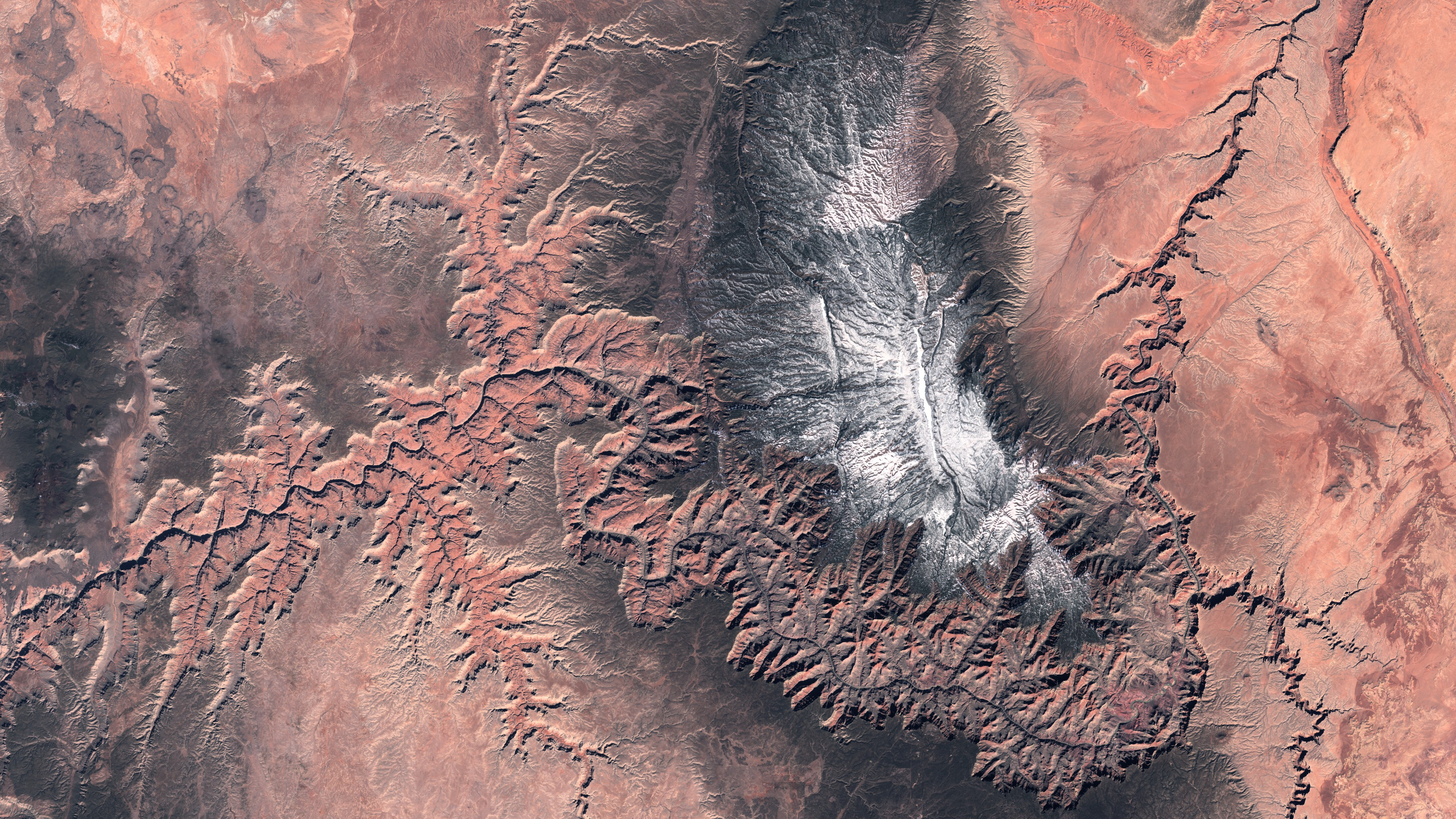 Sentinel 2 - MSI - Grand Canyon - Colorado - 4 mars 2016