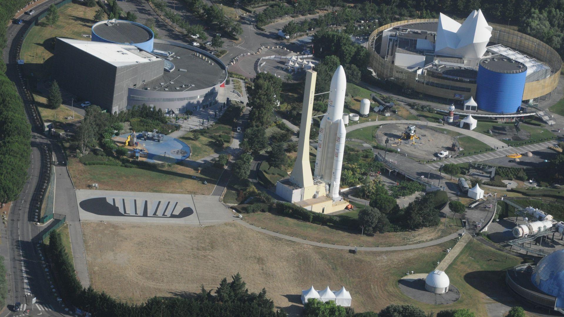 #GiantStep - #Apollo50th - 50 ans Apollo 11 - Empreinte géante - Toulouse - Cité de l'espace - Man on the moon - Pas de géant - Lune - ULM - Footprint