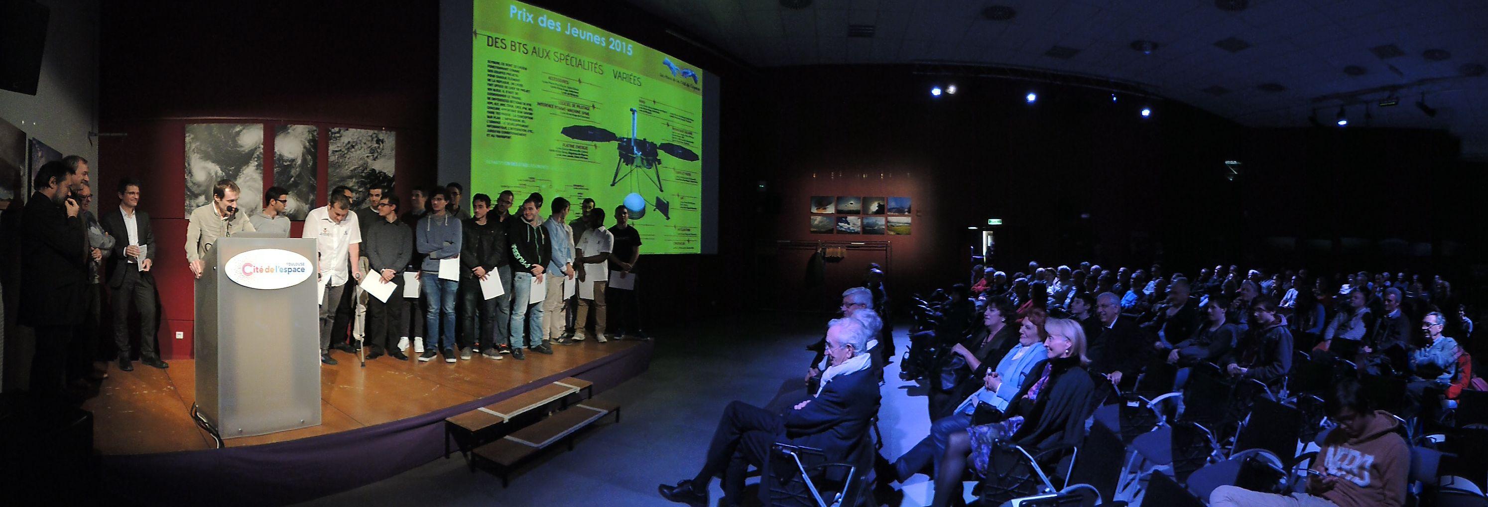 Prix des Amis de la Cité de l'espace - Prix jeunes 2015 - --