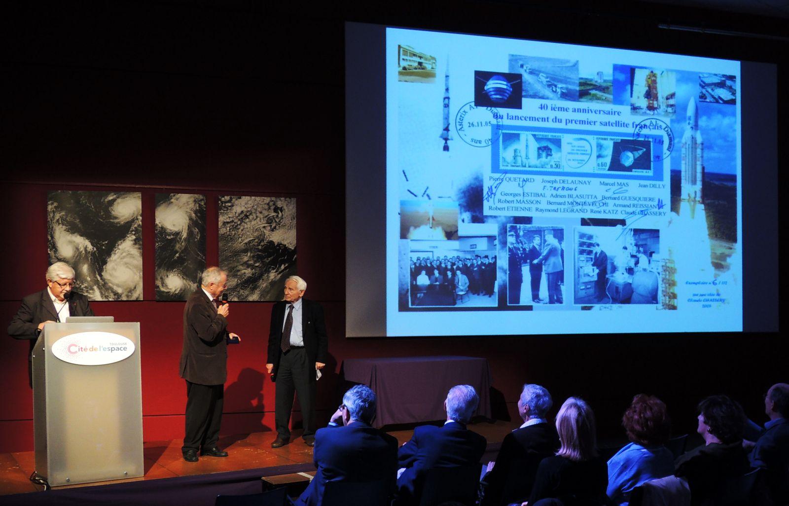 Prix des amis de la cité de l'espace - 2015 - Pierre quétard - Matra- ANSTJ - Planète Sciences - Astérix