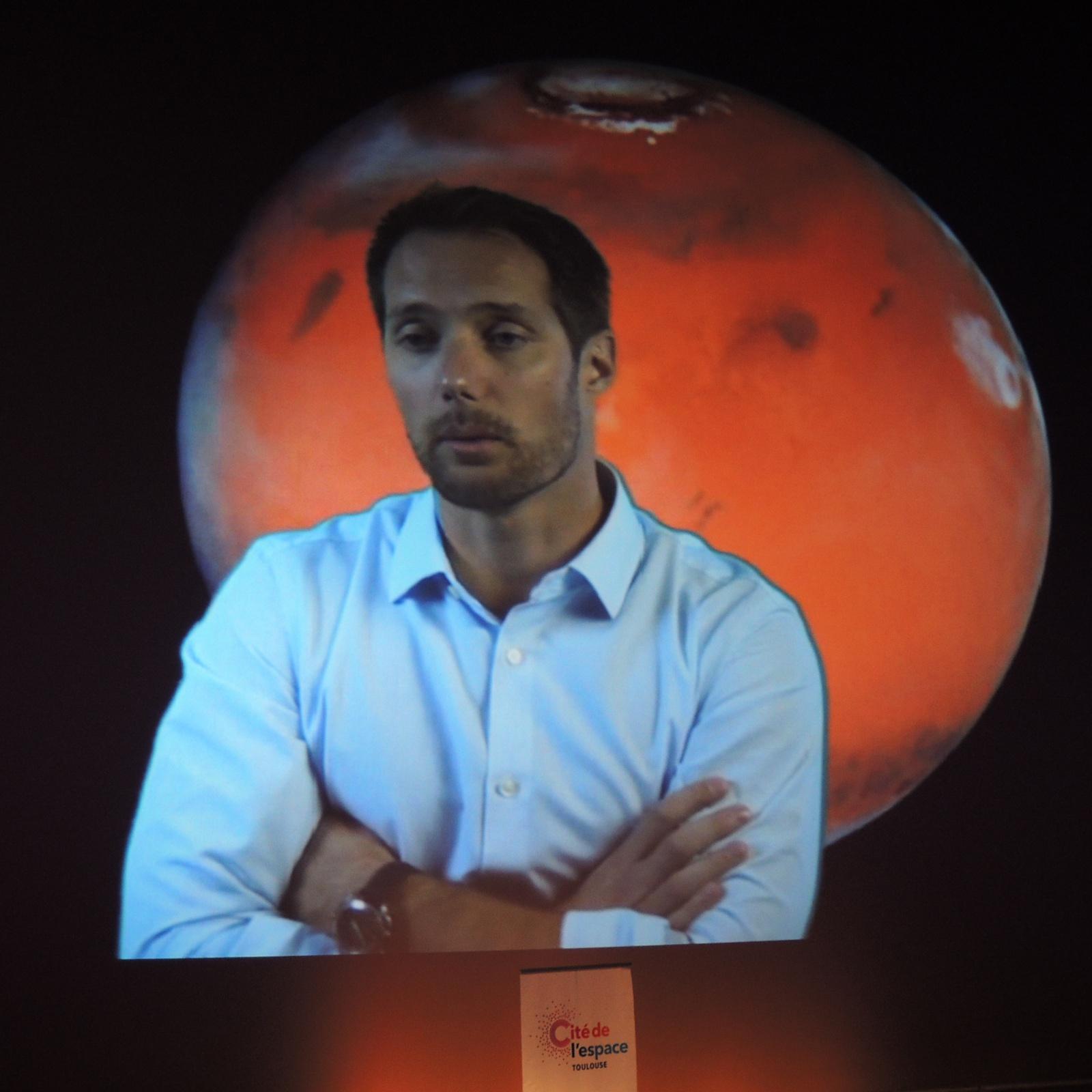 Thomas Pesquet - ISS - Entrainement - Seul sur Mars - Contact avec le sol - Cité de l'espace - Toulouse