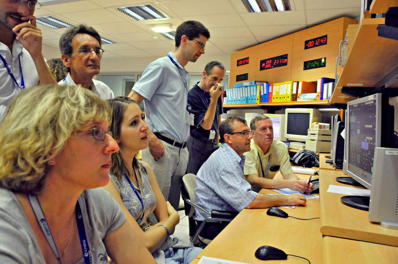 Spot -Spot-2 - Spot-5 - Opérations CNES - Désorbitation - CST - Toulouse - Juillet 2009