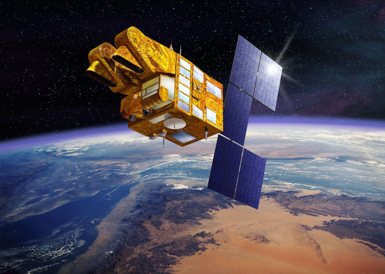 Spot 5 - Satellite - Désorbitation - Toulouse - CNES - Vue d'artiste - Fin de vie - Orbite
