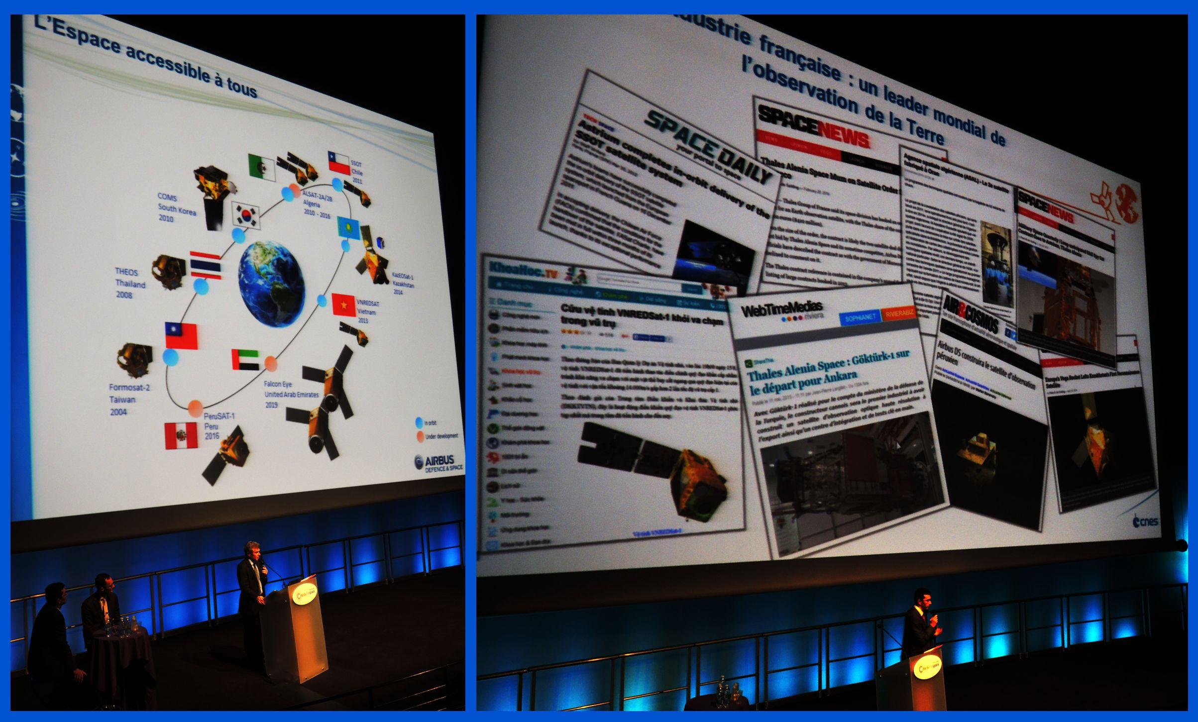 30 ans de SPOT - Industrie spatiale française - Compétitivité - Leader mondial de l'observation de la Terre - Export - Retombées économique