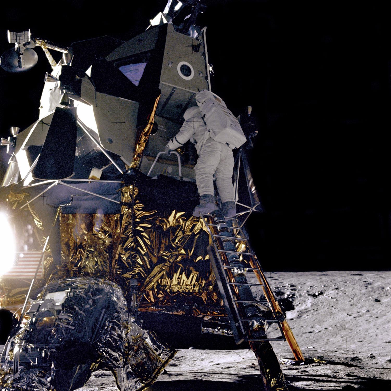 Apollo 12 - Lunar module - Moon landing - Pete Conrad - Alan Bean - NASA - Novembre 1969