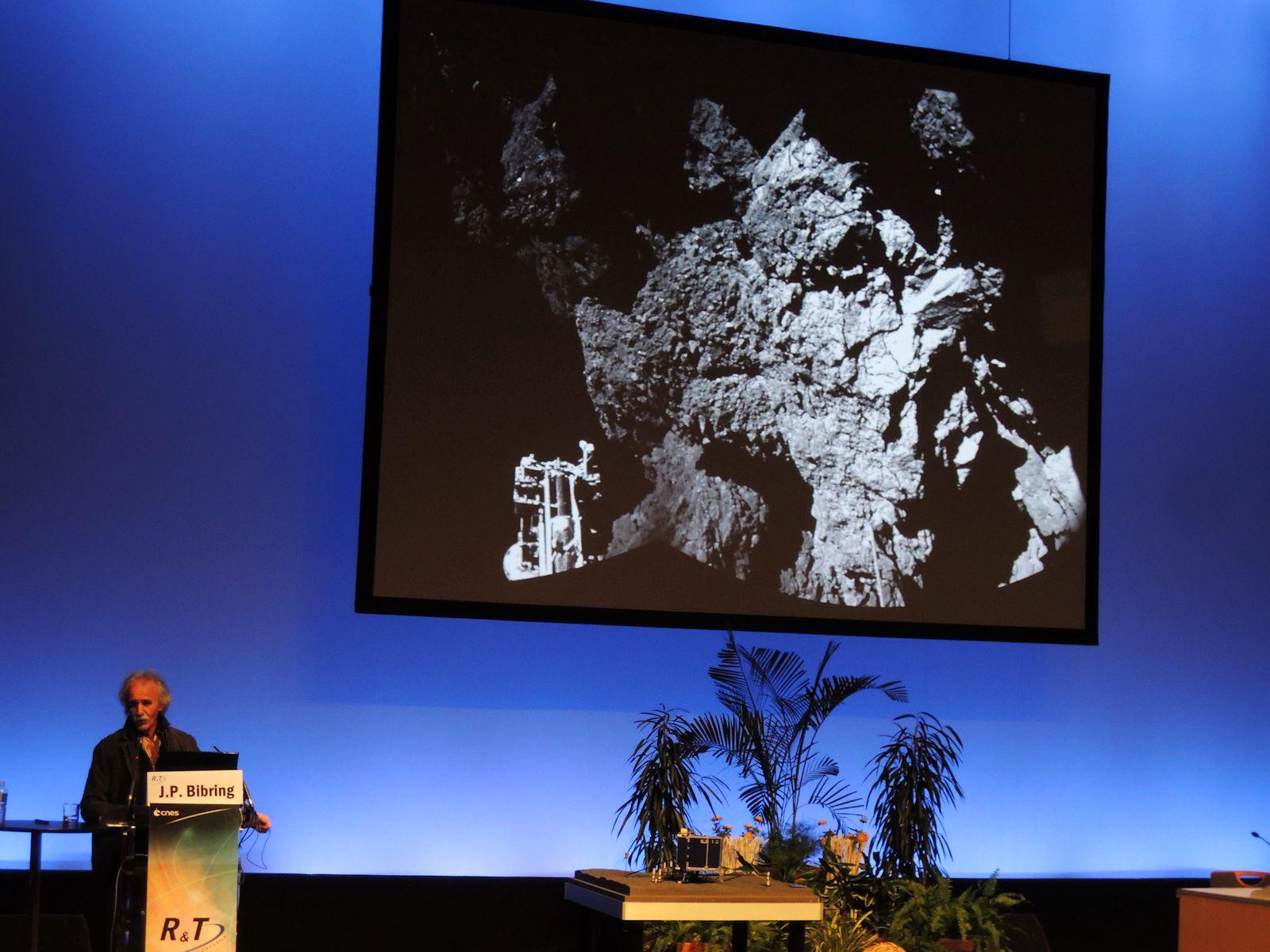Jean-Pierre Bibring - IAS Orsay - Le réveil de Philae - Conférence Philae - Journée R et T CNES