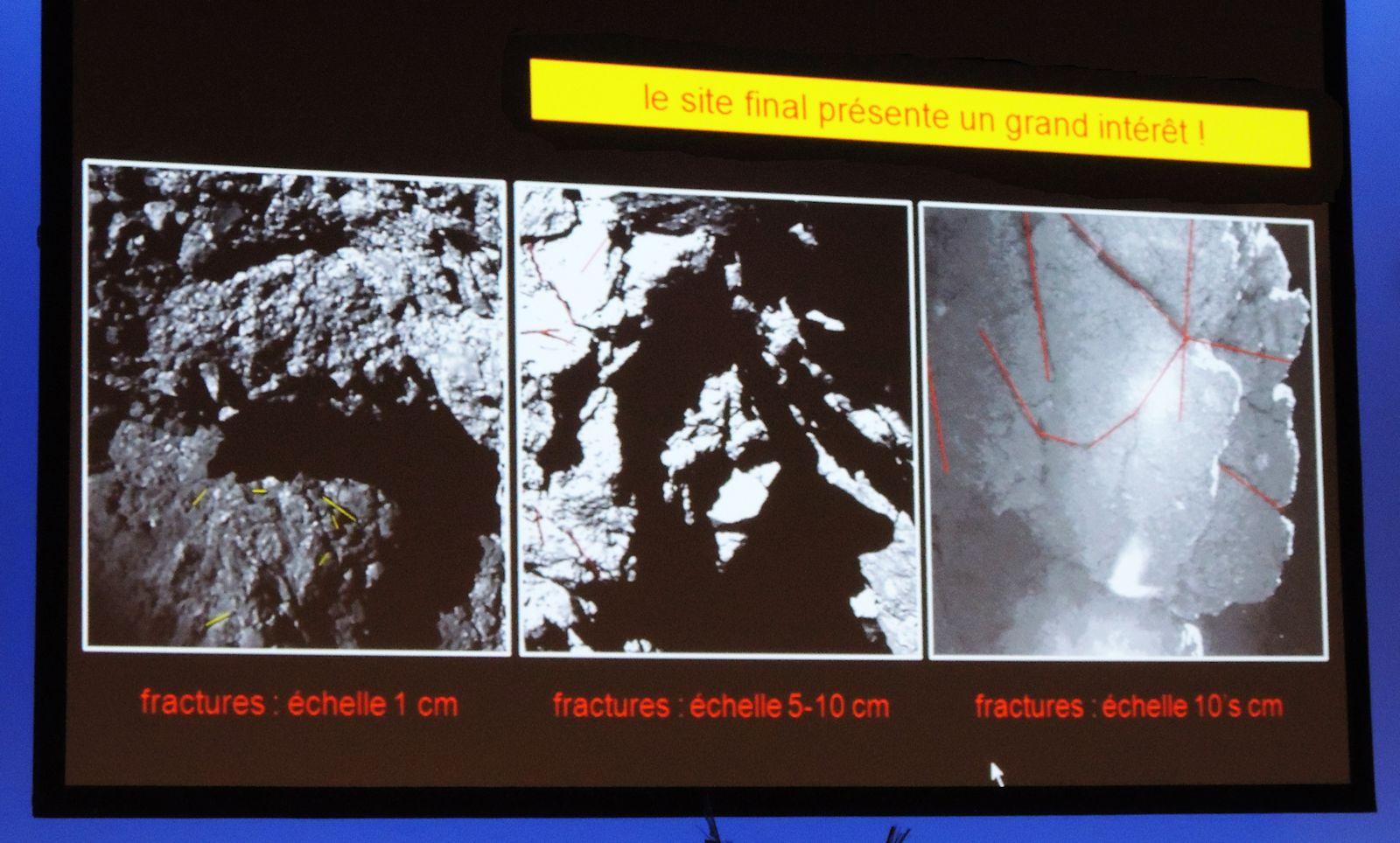 Jean-Pierre Bibring - IAS Orsay - Philae - Intérêt scientifique du site d'atterrissage de Philae - Le réveil de Philae - ESA - Comète