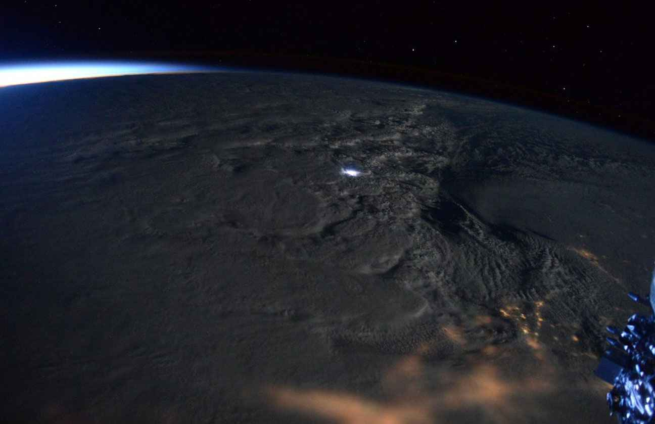 Tempête Jonas - Snowzilla - Nuages - Scott Kelly - ISS - 23 janvier 2016 - NASA