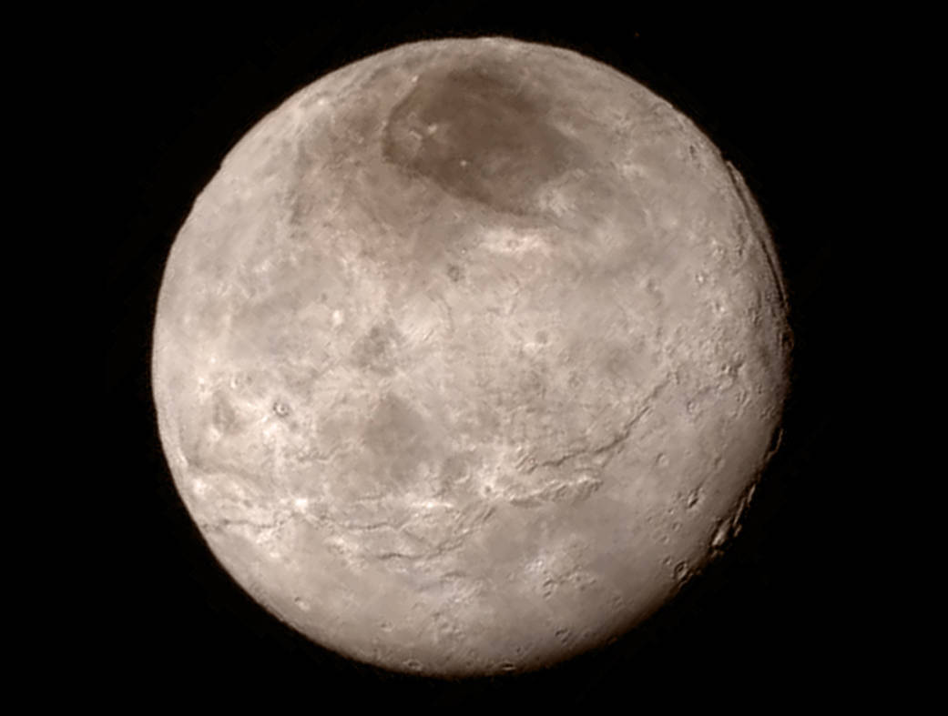 New Horizons - Charon - Images à haute définition - Browse - Surface - Cratères - Pluton - NASA