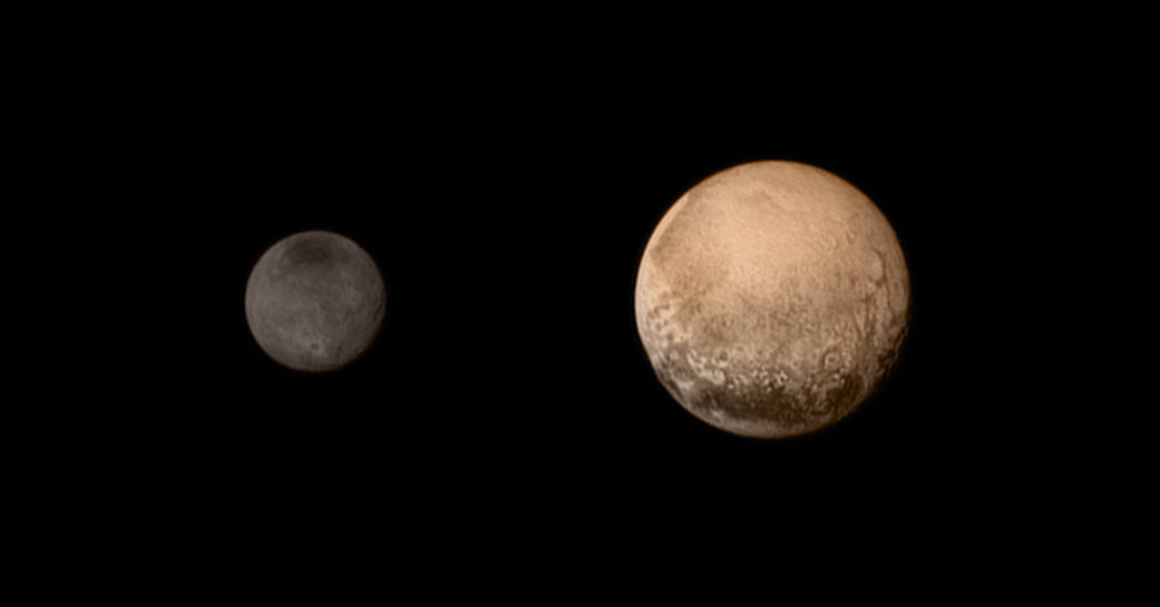 Pluton - Charon - New Horizons - LORRI - NASA - 8 juillet 2015 - Flyby - Fly-by - approche