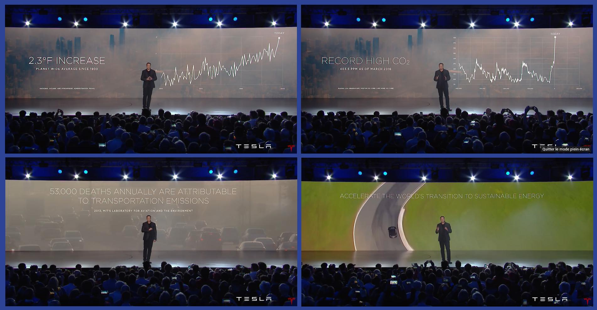 Tesla unveils Model 3 - Elon Musk - Présentation Model 3 - Transition énergétique - Voiture électrique - Réchauffement climatique - Santé