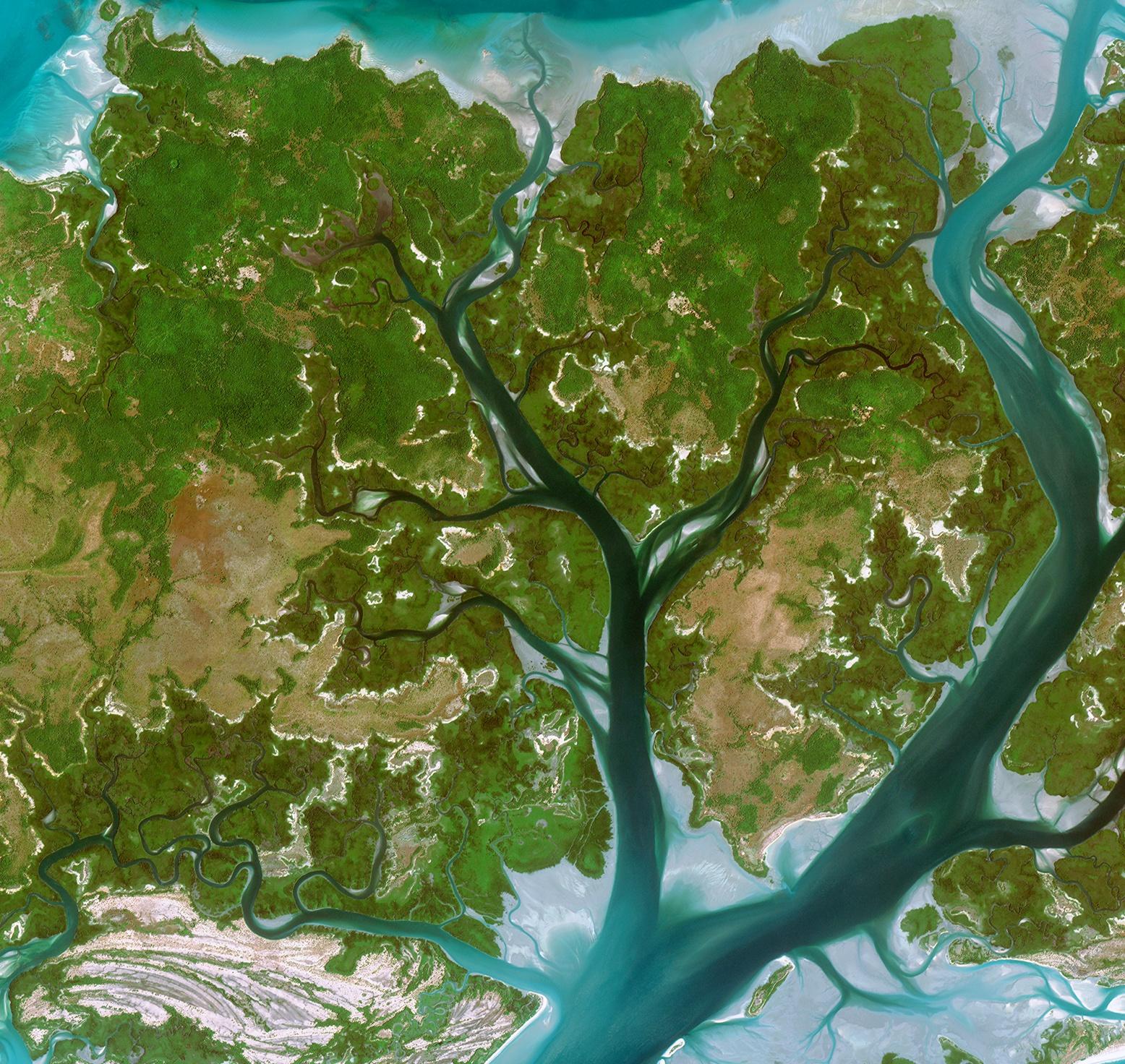 Quiz image - Image mystère - Août 2015 - Blog - Satellite - Environnement - Observation de la Terre