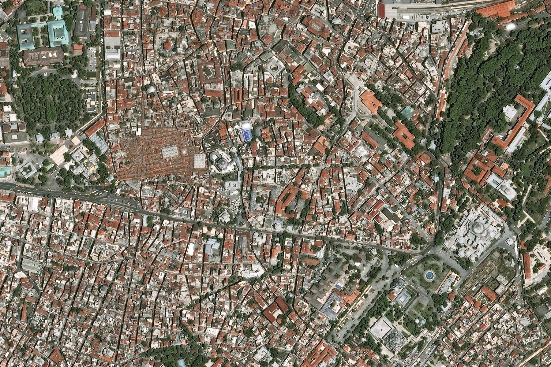 Quiz image satellite et environnment - Décembre 2015 - Observation de la Terre - Earth observation