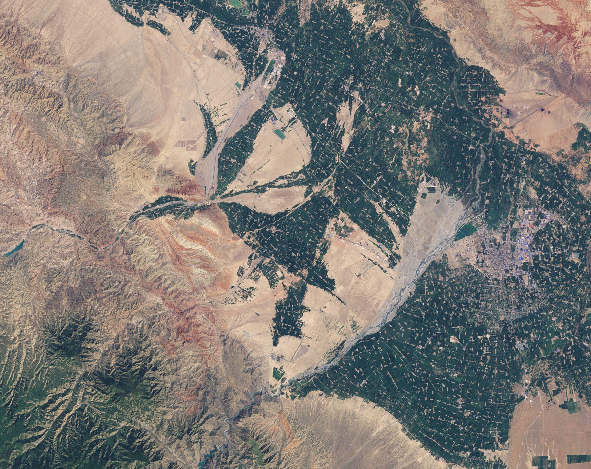 Zhangye Danxia : le quiz du blog Un autre regard sur la Terre pour le mois de février 2015