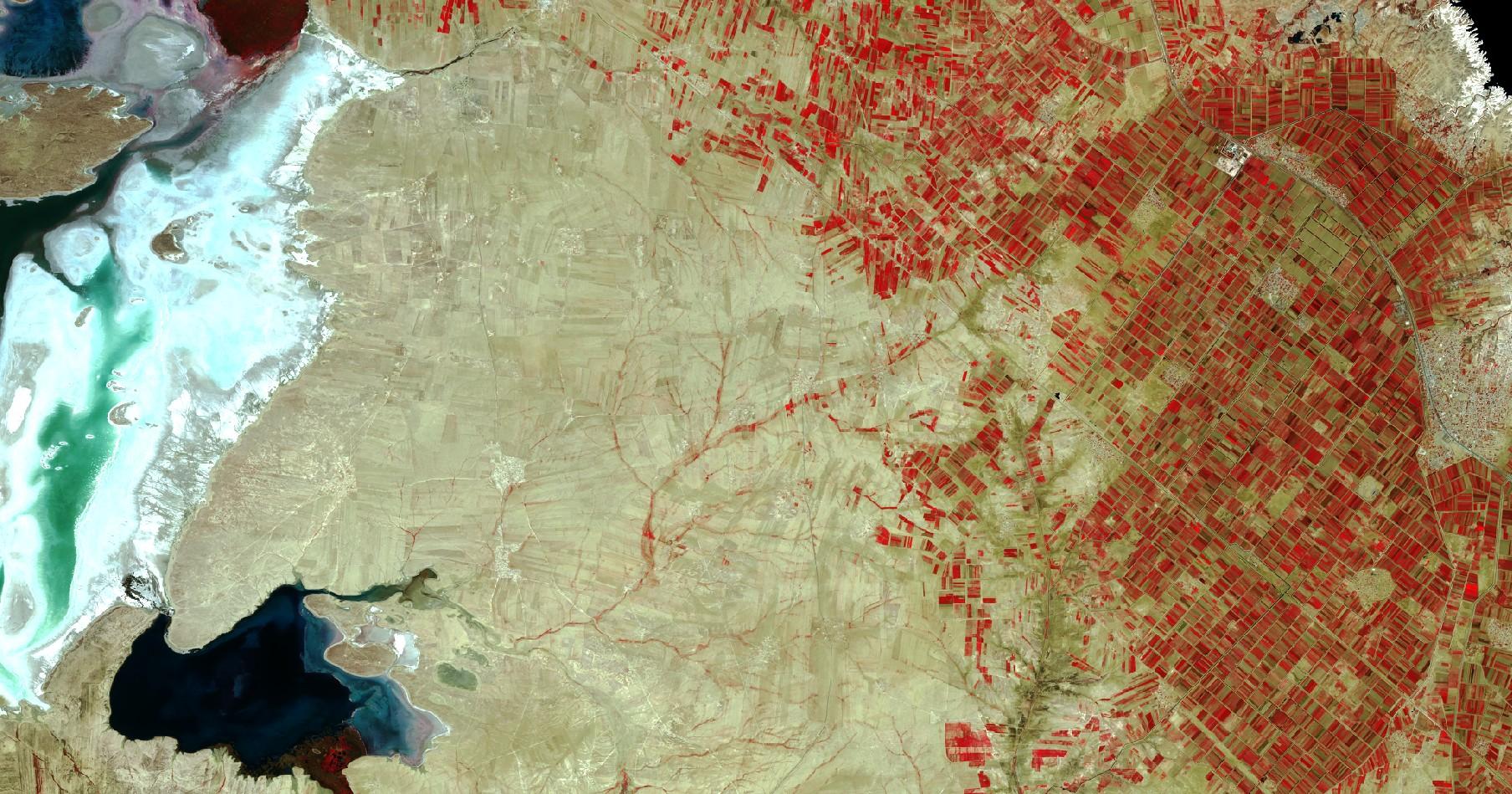 Sentinel 2 - ESA - Copernicus - Commission européenne - Journée de la Terre - Quiz image satellite - Un autre regard sur la terre