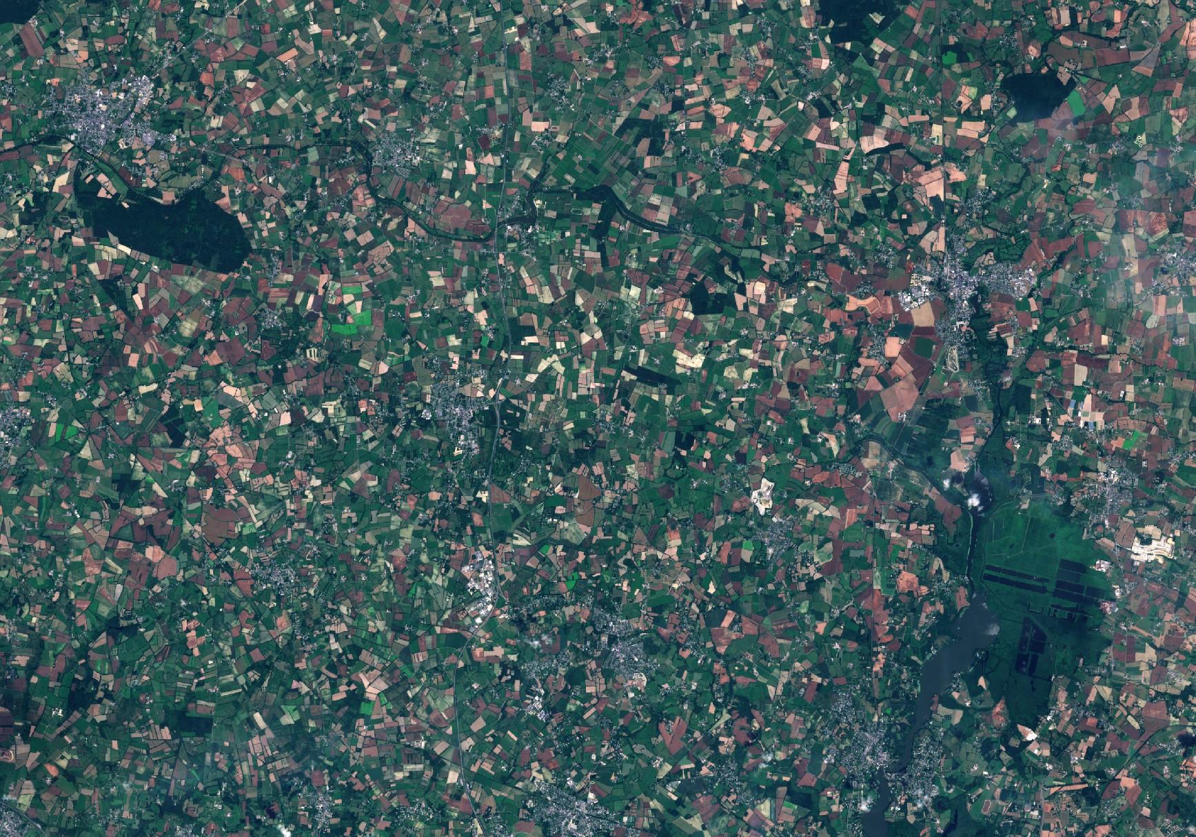 Un autre regard sur la Terre - Quiz - Quizz - Image satellite et environnement - Earth observation - Indice - Juillet 2016