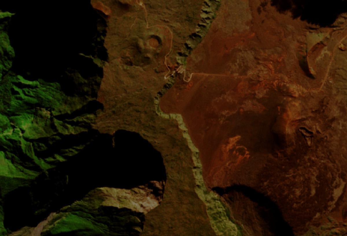 Quiz - Image - Satellite - environnement - Juin 2016 - Un autre regard sur la Terre - Image mystère - Observation de la Terre