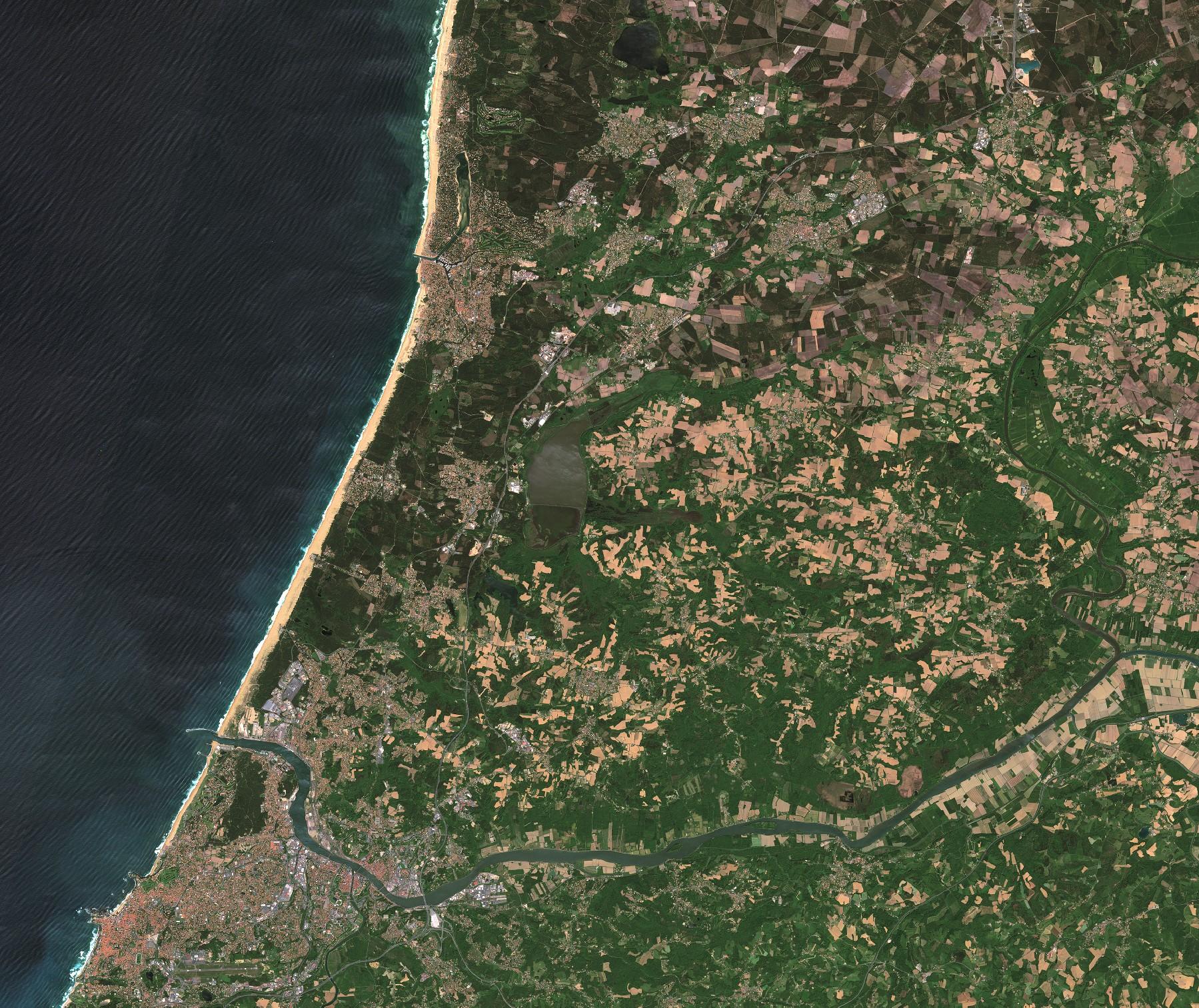 Quiz - Image satellite et environnement - dernier indice - Un autre regard sur la Terre - Observation de la Terre - Earth Observation - ESA - Sentinel-2A