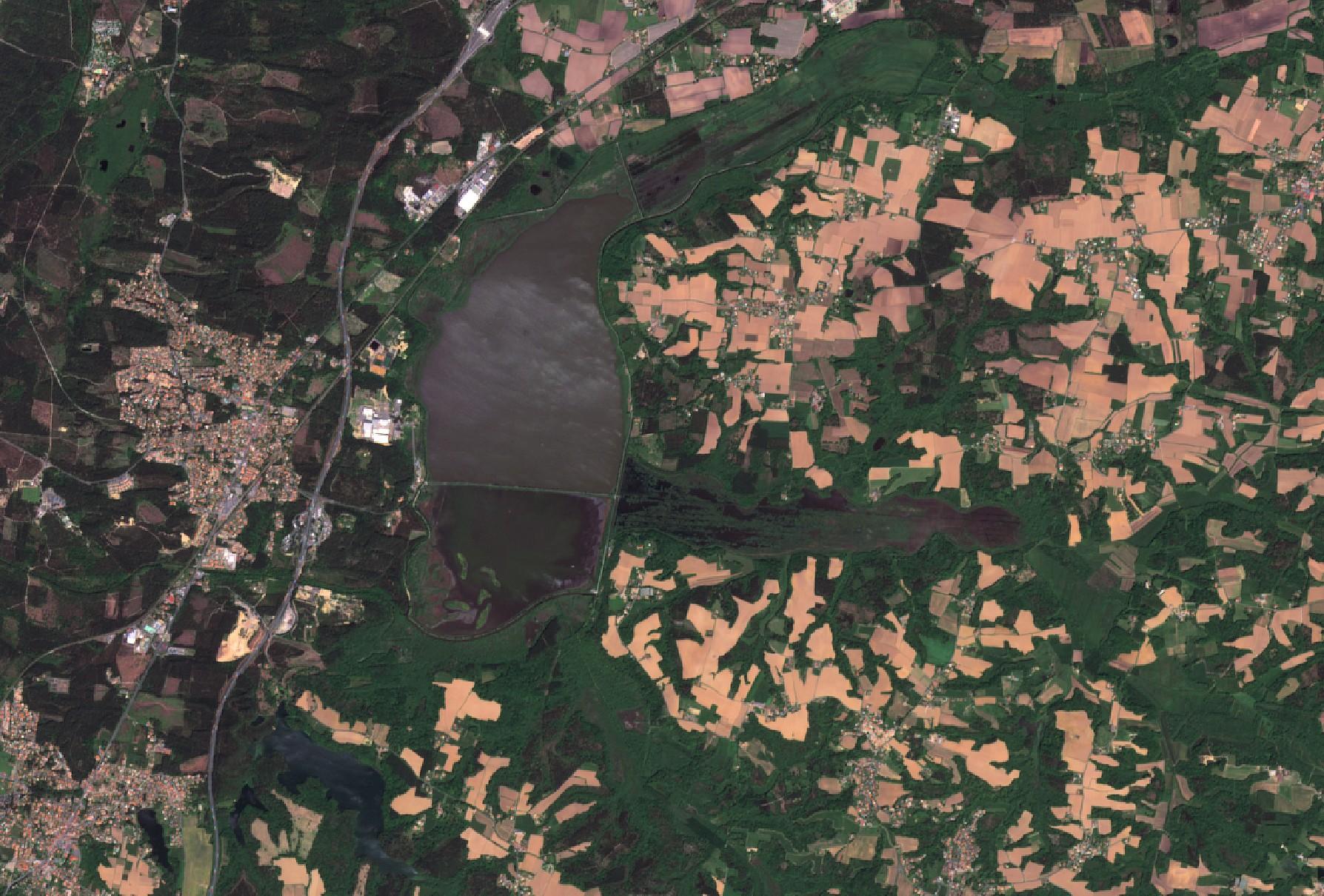 Satellite d'observation - Environnement - Quiz - Image - Remote Sending - Earth observation - Un autre regard sur la Terre - Jeu - Quizz