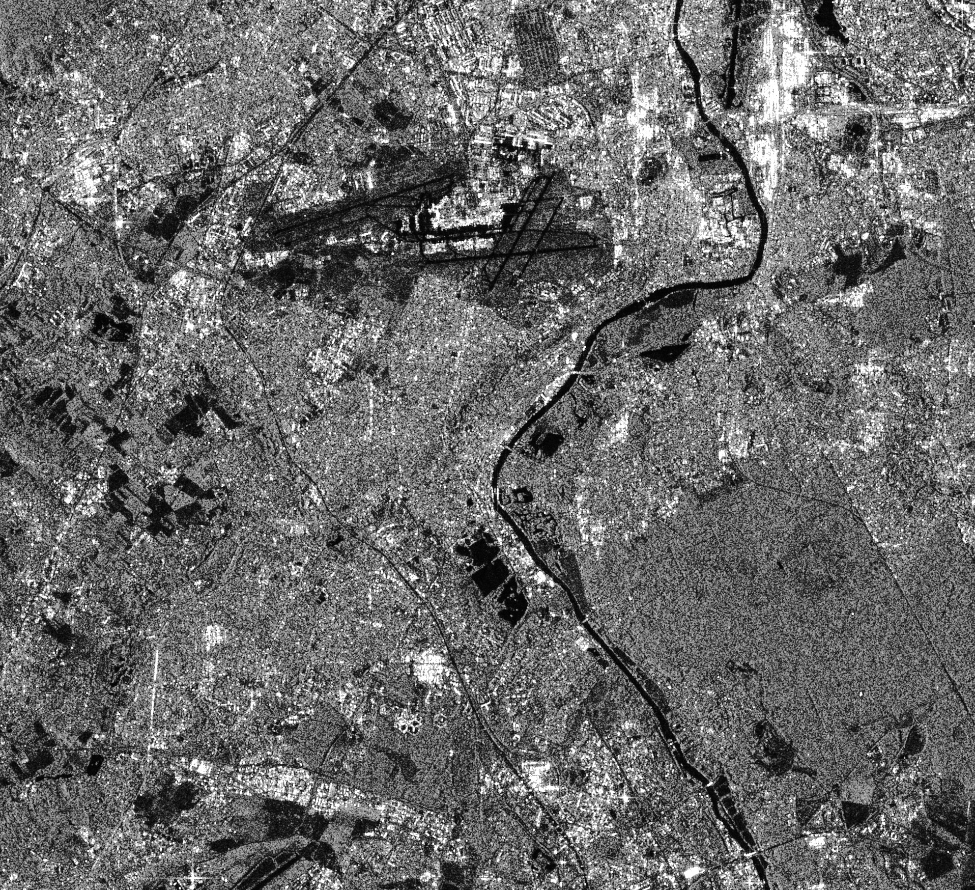 Seine - Orly - Viry-Chatillon - Ris-Orangis - Grigny - Corbeil-Essonne - Inondations - Juin 2016 - Sentinel-1A - Satellite - ESA - Copernicus