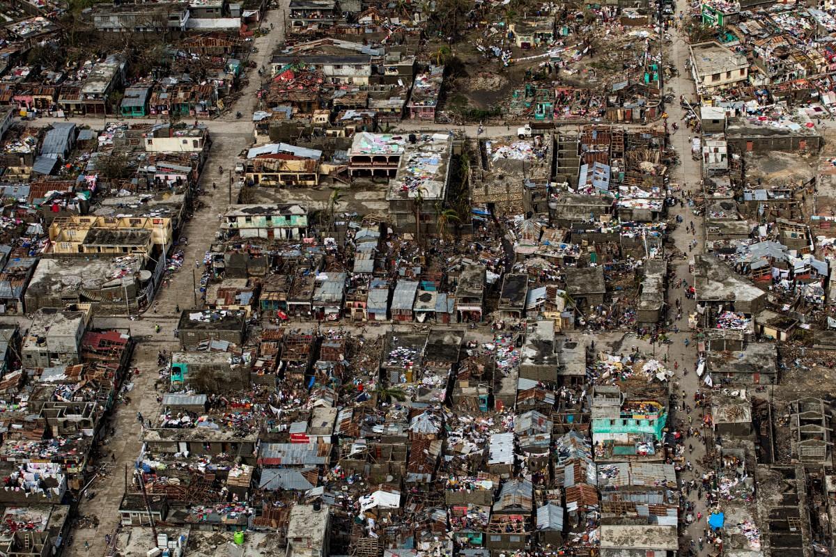 Matthew - Haiti - Haïti - Les Cayes - Dégats - Hurricane - Tropical storm - dégâts - victimes - Nations Unies - OCHA - Copernicus - Charte internationale - Logal Abasse