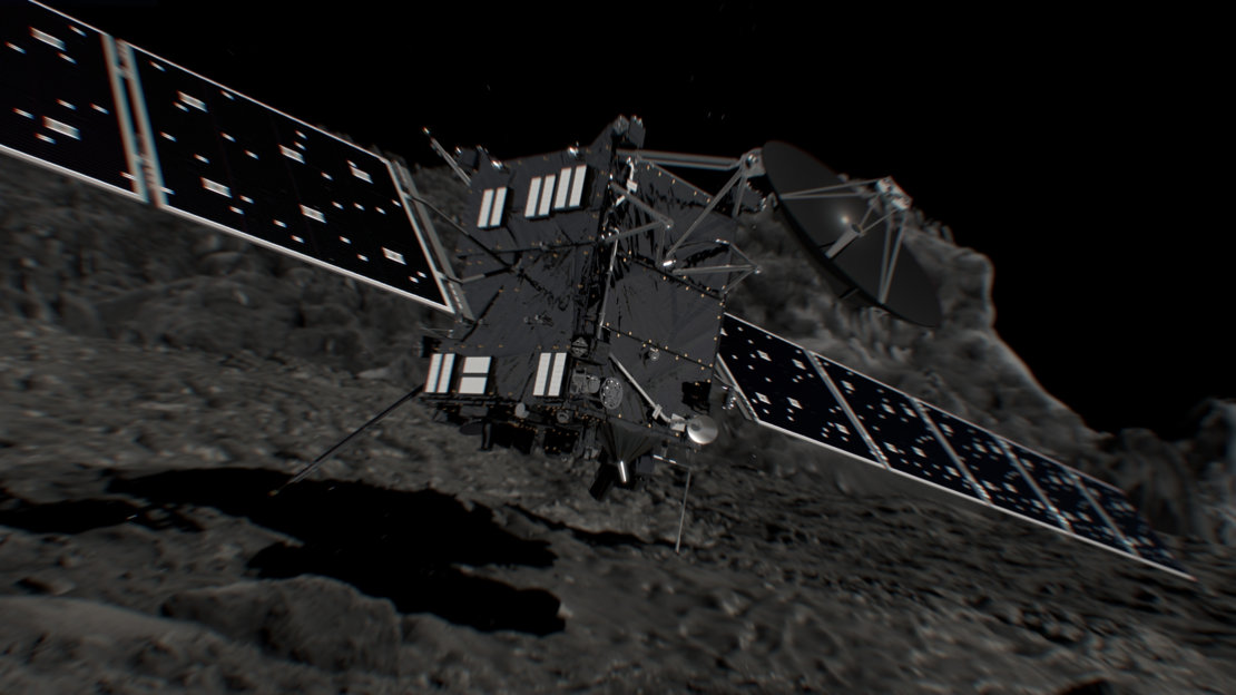 Rosetta - Grand final - Fin de mission - Impact comete - The end