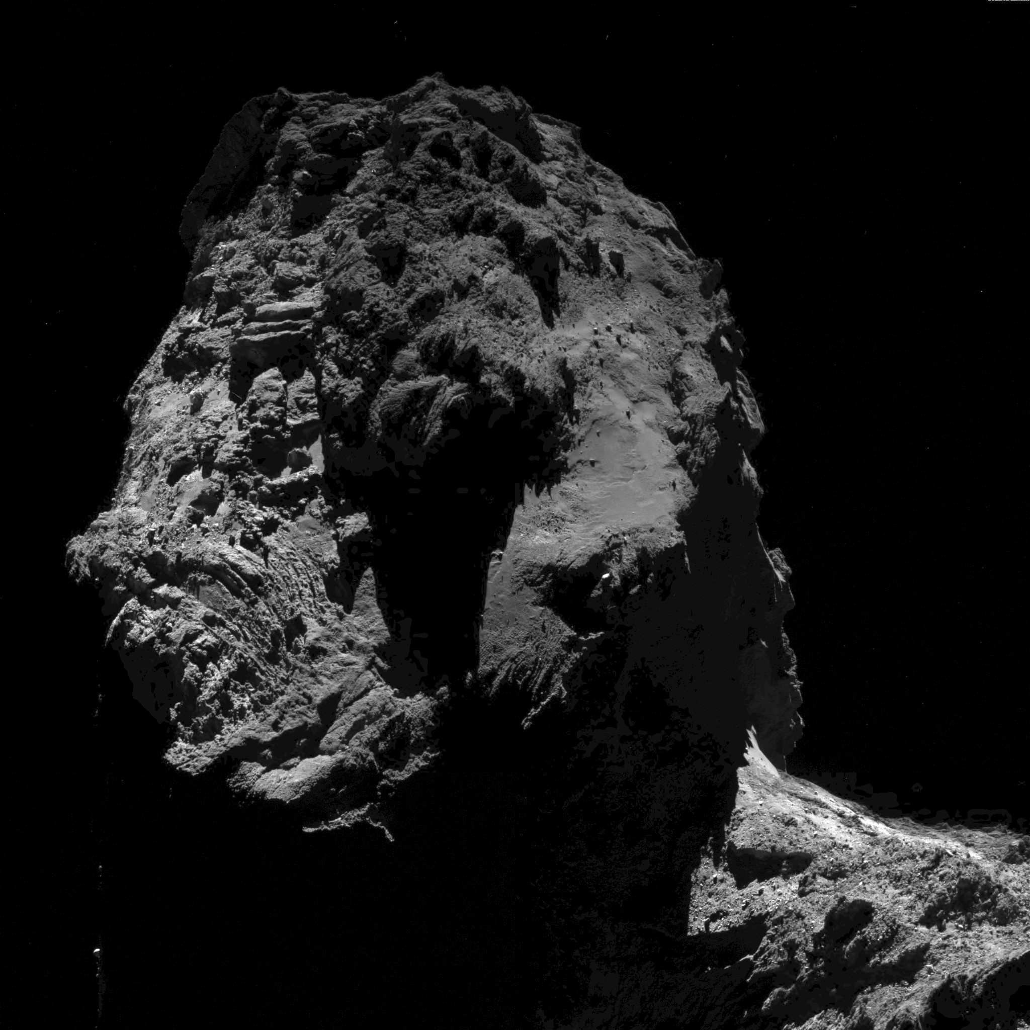 Rosetta - OSIRIS - CG67P - Landing site - plongeon final - Adieux de rosetta - fin de mission - ESA - succes europeen - The end