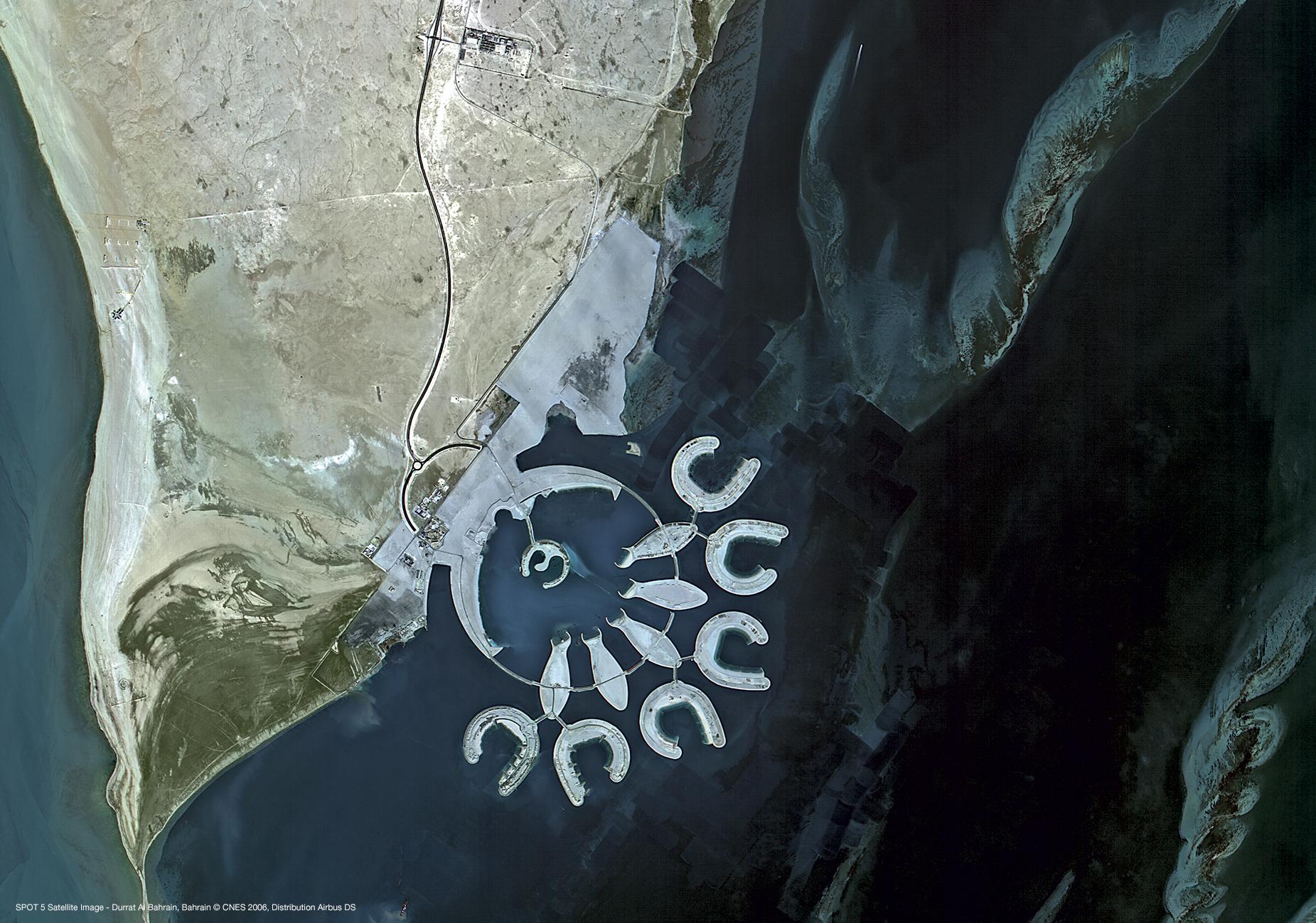 Premier avril - Poisson d'avril - îles en forme de poisson - Bahreïn - Durrat Al Bahrain
