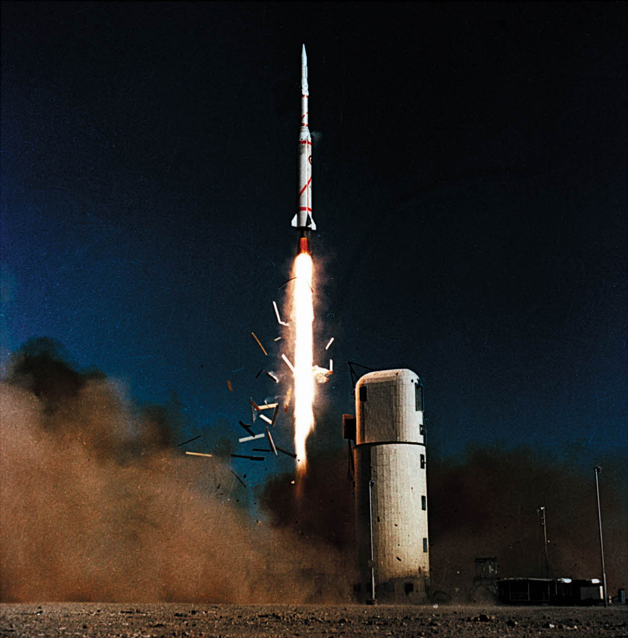 Astérix - A1 - Diamant - Hammaguir - 26 novembre 1965 - lancement - France - Troisième puissance spatiale - Pierre Quétard - Aubinière - Matra - CNES