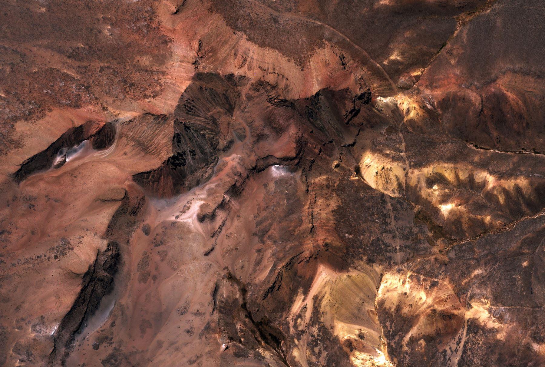 Perùsat - Première image - First image - Volcan Misti - Pérou - Perù - satellite - CONIDA
