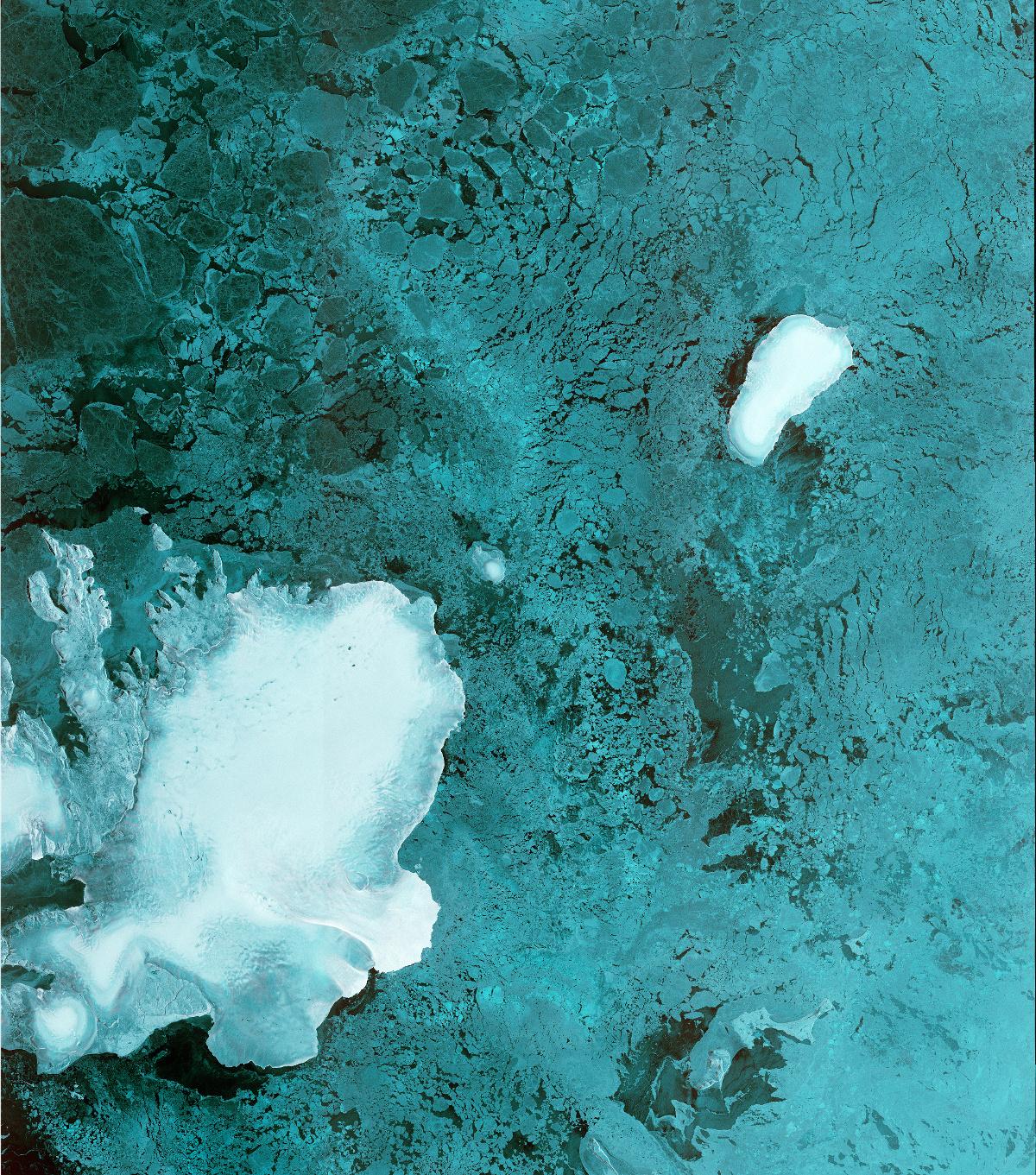 Sentinel-1B - First image - Première image - Radar - Svalbard - Norvège - Norway - ESA - Copernicus - Commission européenne