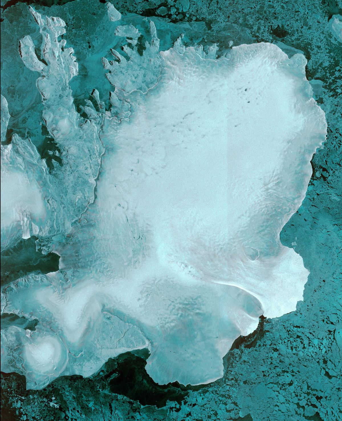 Sentinel-1B - Première image - First image - Auslanded - Svalbard - ESA - Copernicus
