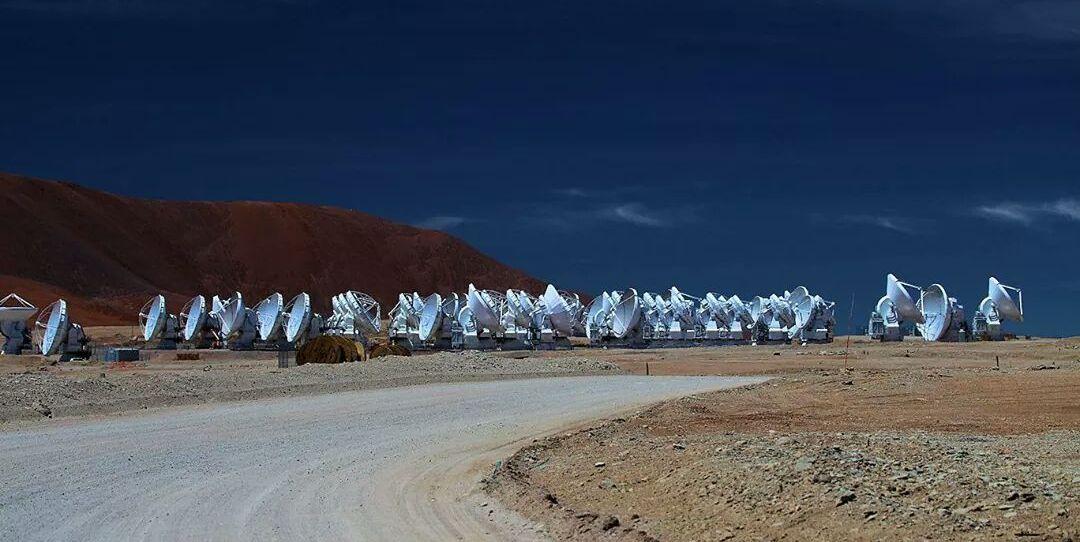 ALMA - ESO - Atacama - Réseau antennes - Plateau de Chajnantor - Alain Maury