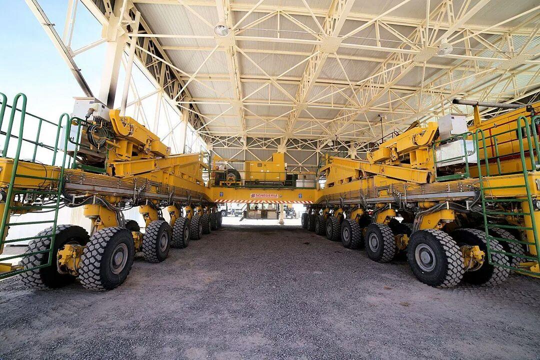 ALMA - ESO - Camions géants - Otto - Lore - Transport et déplacement des antennes - Atacama - Alain Maury