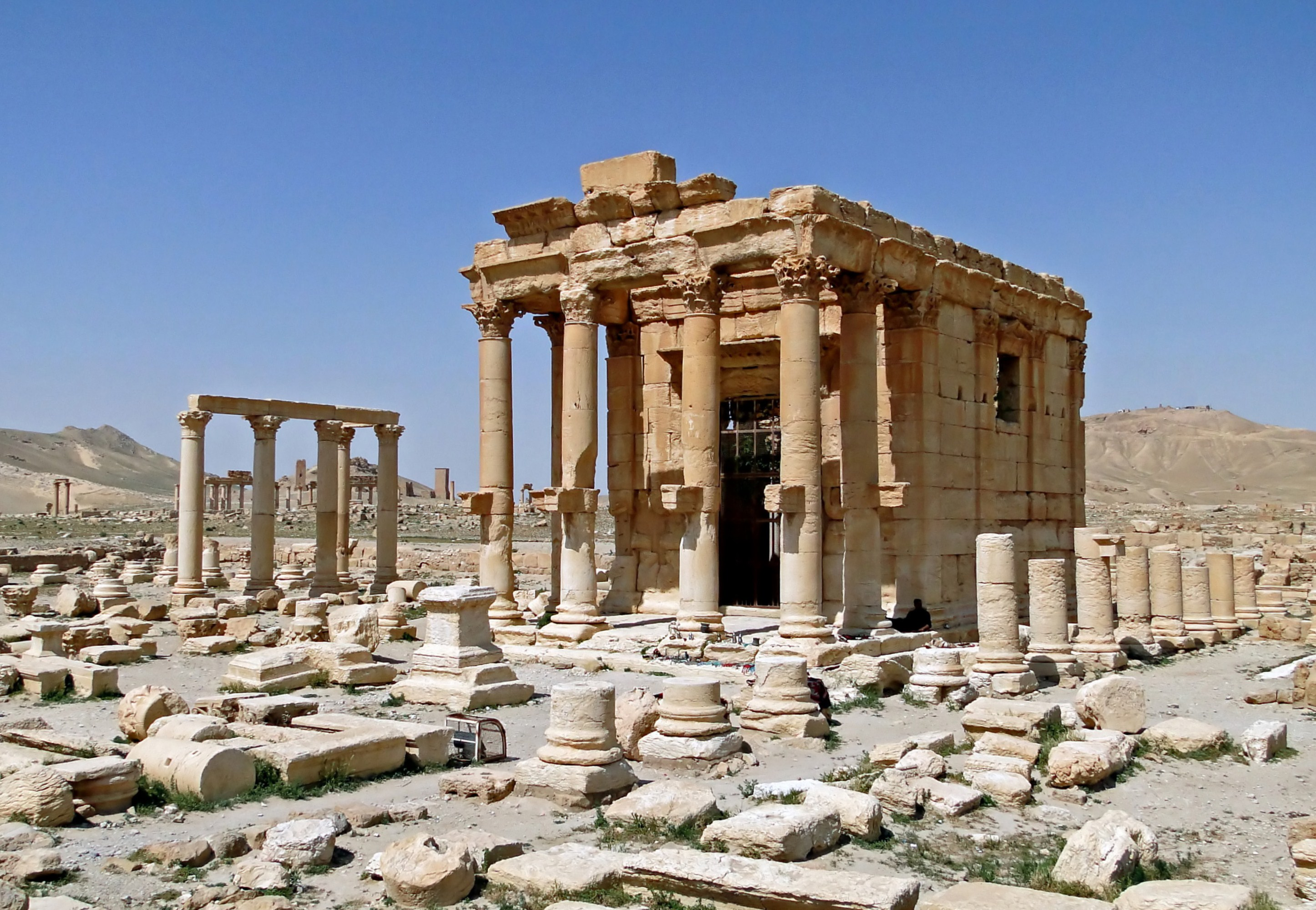 Palmyre - Syrie - Temple Baalshamin - Avant destruction par DAECH - EI - Bergnard Gagnon